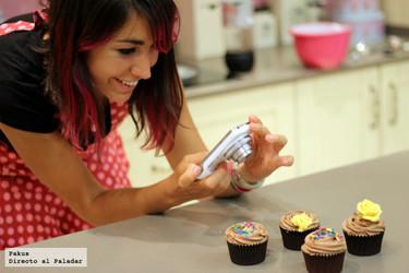 Taller de cupcakes con Alma Obregón