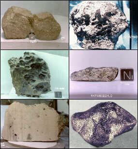 Meteoritos que nos caen cada día