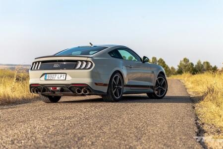 Ford Mustang Mach 1 2021 Prueba 039