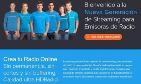Egostreaming, para emitir radio online de manera profesional