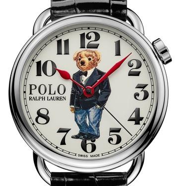 Polo Bear protagoniza los nuevos relojes icónicos (y de aires retro) de Ralph Lauren