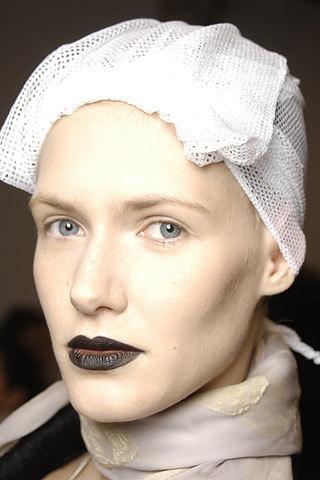 Labios negros para el otoño-invierno 2008/2009