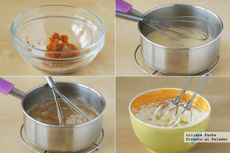 Pumpkin Spice Latte. Pasos