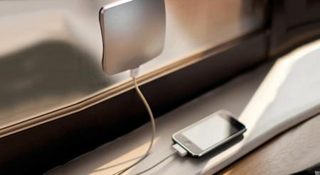 Cargador para el móvil a través de energía solar