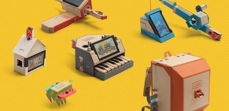 21 genialidades y locuras construidas con Nintendo Labo que no te puedes perder