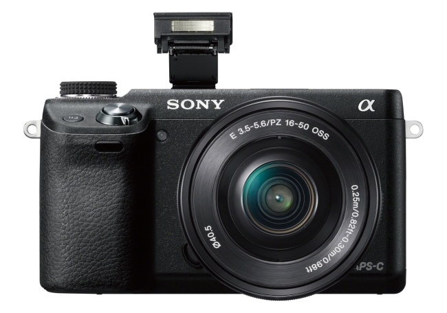 Sony NEX-6 con flash y WiFi