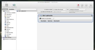 Crea combinaciones de teclas para lanzar aplicaciones con Automator