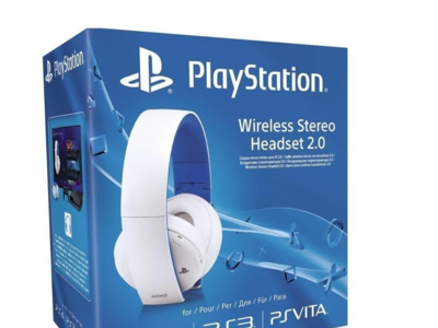 Auriculares estéreo inalámbricos Sony para PlayStation por 54,99 euros
