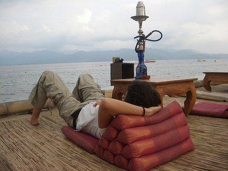 Descanso en las Islas Gili, Indonesia