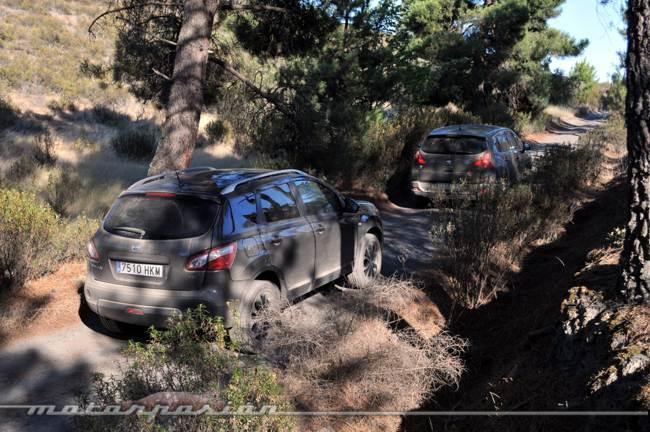 Comparativa Nissan Qashqai y Peugeot 3008 03