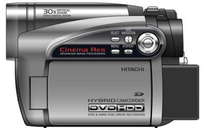 Videocámaras híbridas de Hitachi DZ-HS500 y DZ-HS501