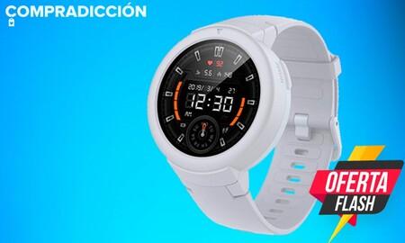 El Amazfit Verge Lite está en oferta flash en Amazon: estrena reloj a precio de derribo, por sólo 48 euros