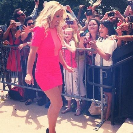 Britney Spears, monérrima de la muerte en su primer día de trabajo en 'X Factor'