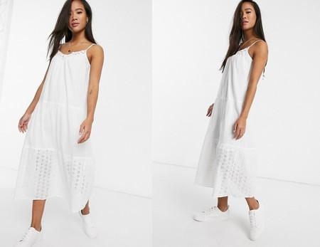 Dakota Johnsson Vestido Blanco 8