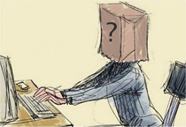 indetidad online usuarios anonimato