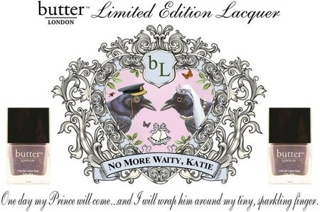 """No More Waity, Katie"", el esmalte de uñas inspirado en la boda de Kate y William"