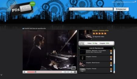 PlisTube, listas personalizadas de vídeos de tus artistas favoritos