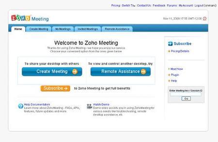 Soporte remoto para aplicaciones de Zoho