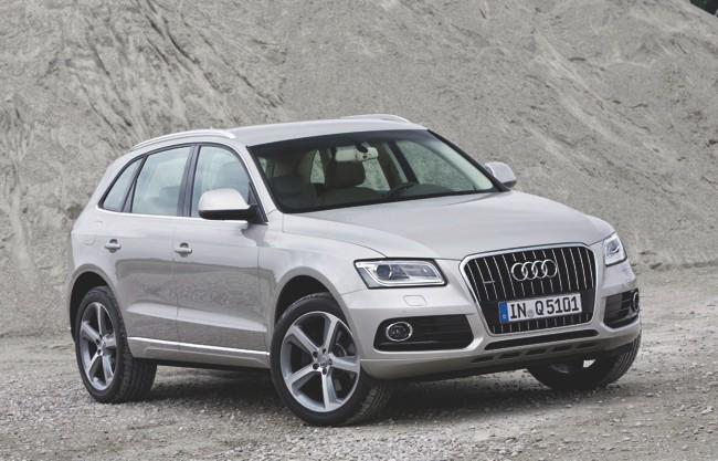 Audi Q5 gris