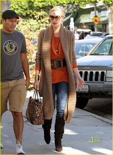 katherine heigl bolso leopardo