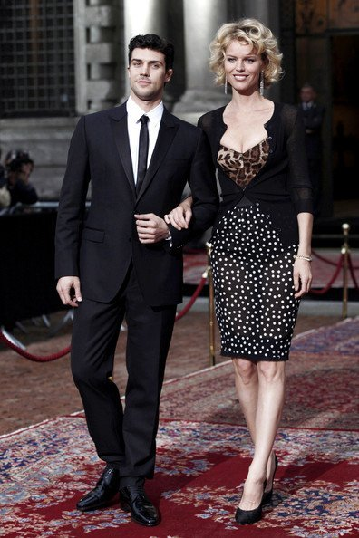 Todas las invitadas a la fiesta del 20 Aniversario de Dolce Gabbana: Eva Herzigova