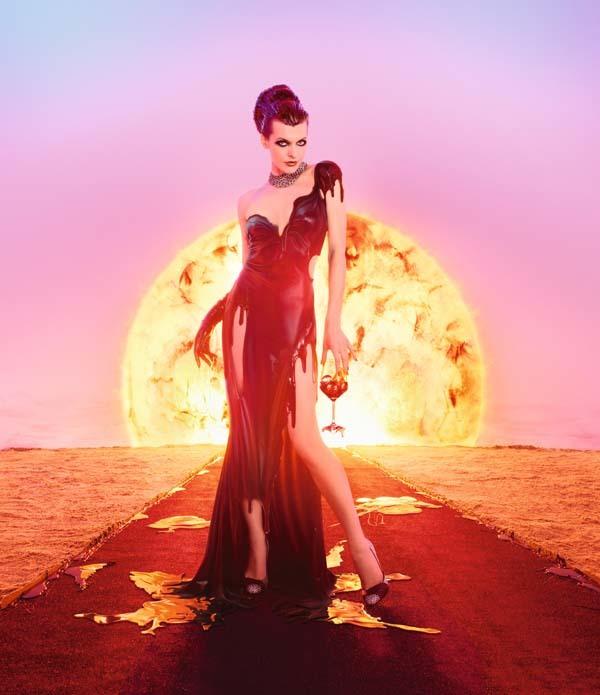 Foto de Milla Jovovich en el Calendario Campari (11/13)