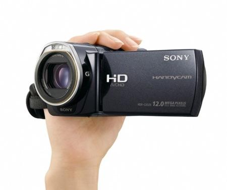 Sony HDR-CX520V y HDR-CX500V, videocámaras con grandes prestaciones