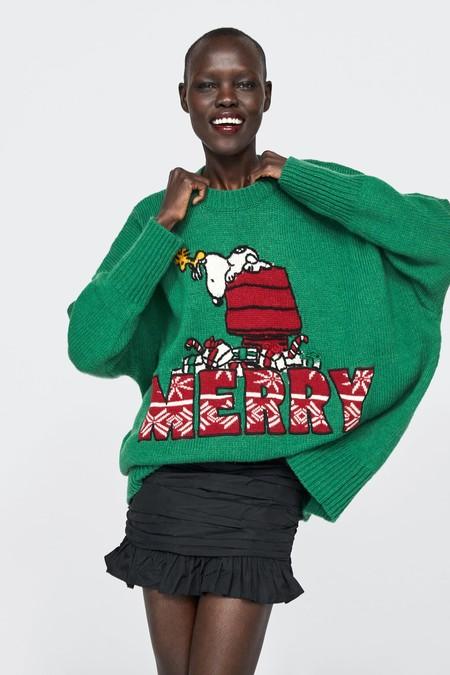 Los nuevos ugly sweaters de Zara son de todo menos feos