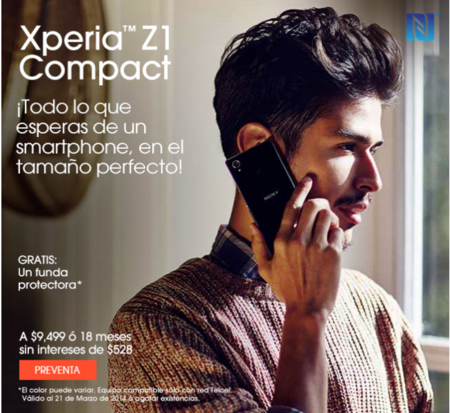 Sony Xperia Z1 Compact Sony Store
