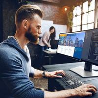 Dell presenta su monitor USB-C ultra-ultra-ultrapanorámico de ¡49 pulgadas!