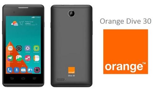 4G y Android 5.1 también llegan a la gama baja con el Orange Dive 30 por menos de 100 euros
