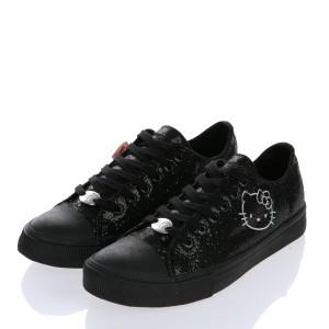 Sneakers negras Hello Kitty de Victoria Couture