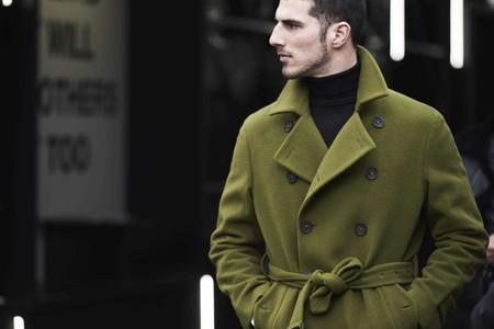 El verde militar se corona como el color fetiche de los primeros looks del street-style de Pitti Uomo