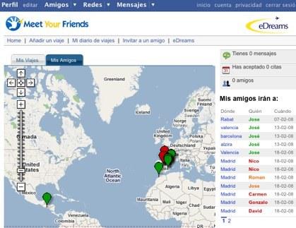 Meet Your Friends, aplicación de eDreams para Facebook