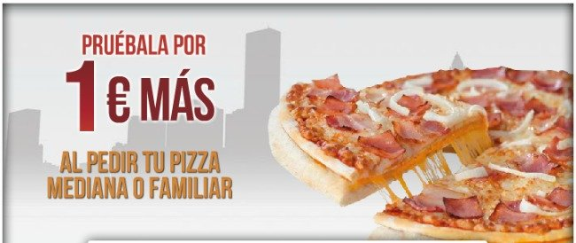 Prueba la nueva 39 tres pisos 39 de telepizza por 1 euro m s for Telepizza 3 pisos