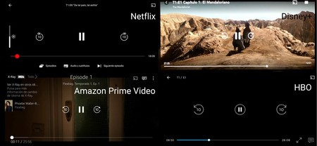 Netflix Disney Plus Amazon Prime Video Hbo