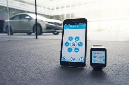 Hyundai Blue Link llega en 2015 a la muñeca como aplicación para smartwatch