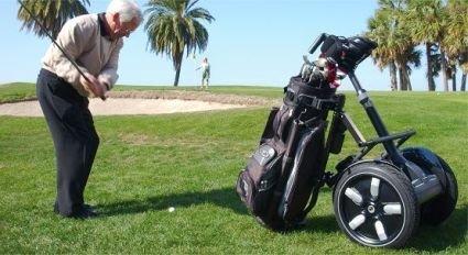 Practica el golf y conduce tu Segway