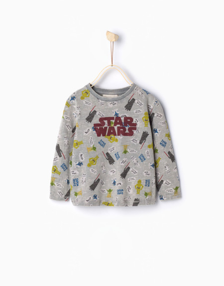 Camiseta Bebes Star Wars
