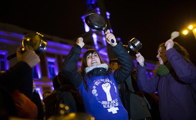 Huelga Feminista Cacerolada