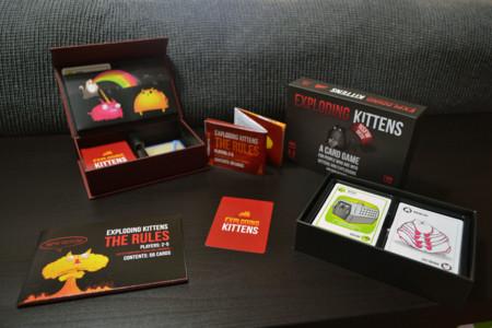 Exploding Kittens, primera edición y edición NSFW