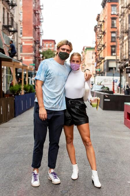 El mejor streetstyle de la semana: mascarilla o pañuelo, así se protegen en Nueva York frente al virus