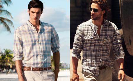Tendencias en camisas: esta Primavera-Verano 2012 quédate a cuadros