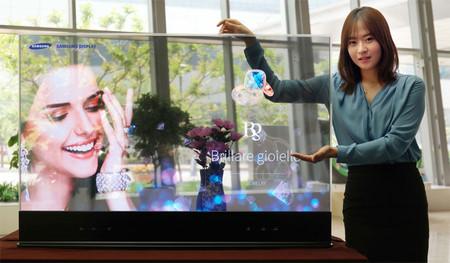 ¿Veremos nuevas teles transparentes en el CES 2019? Samsung podría estar planeando sacar su propio modelo