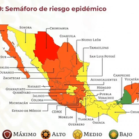 Chihuahua, el primero en volver al semáforo rojo de COVID en México: la proyección del país en verde para octubre no se cumplió