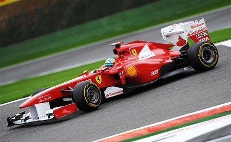 GP de Bélgica F1 2011: Fernando Alonso sufre con el compuesto medio y acaba cuarto