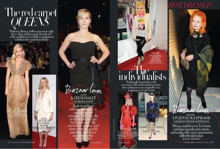 Foto de El Top 20 de las mejor vestidas de 2009 según Harper's Bazaar (7/9)