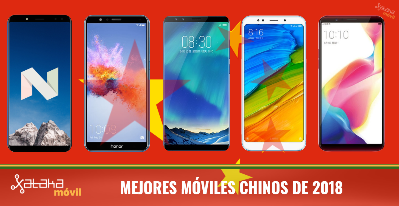 07d42569b50 Mejores móviles chinos 2018