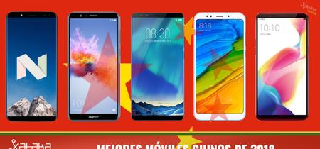 Los 26 mejores móviles chinos de 2018 en toda la gama de precios