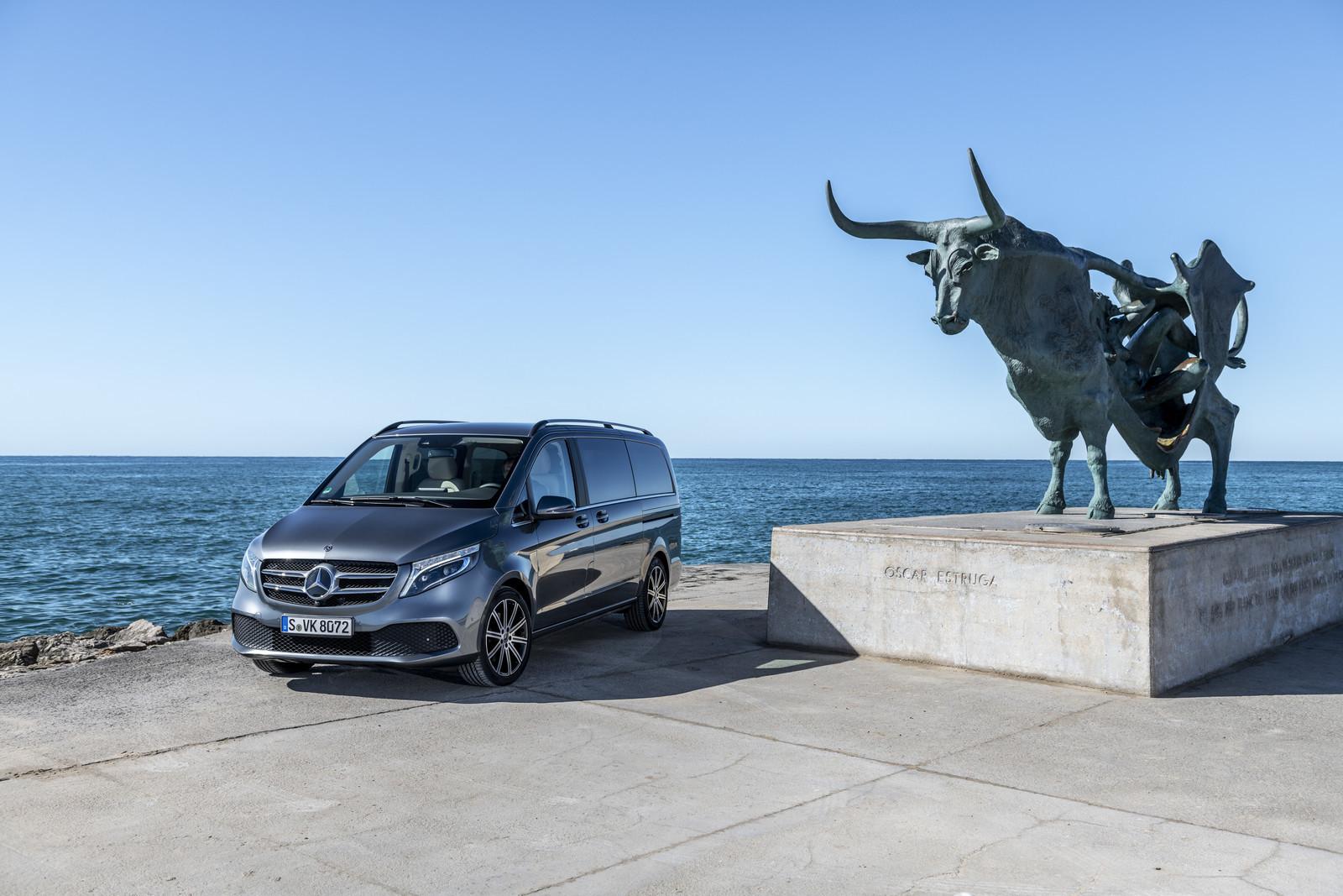 Foto de Mercedes-Benz Clase V 2019 (14/92)